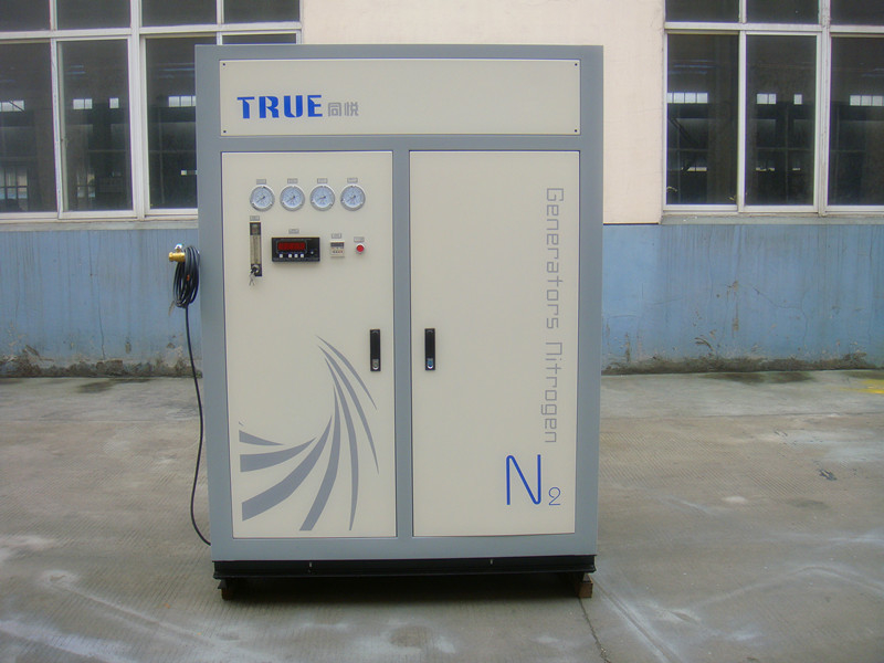 Small Nitrogen Gas System 30Nm3 / H Stainless Steel High Purity Psa N2 Generator