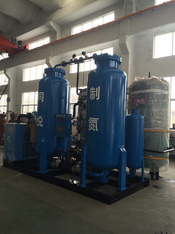 Industrial PSA Nitrogen Gas Generator For Metallurgical Industrty High Purity 80 Nm3/H Capacity